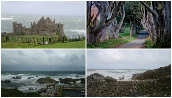 Game of Throne locations in Northern Ireland with Castle View Academy