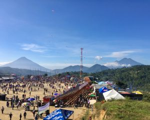 View of Sumpango Kite festival