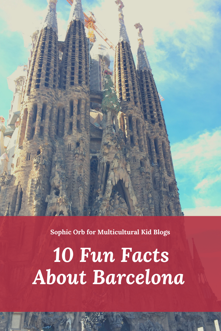 Title image with photo of La Sagrada Familia