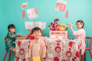 children Chinese New Year