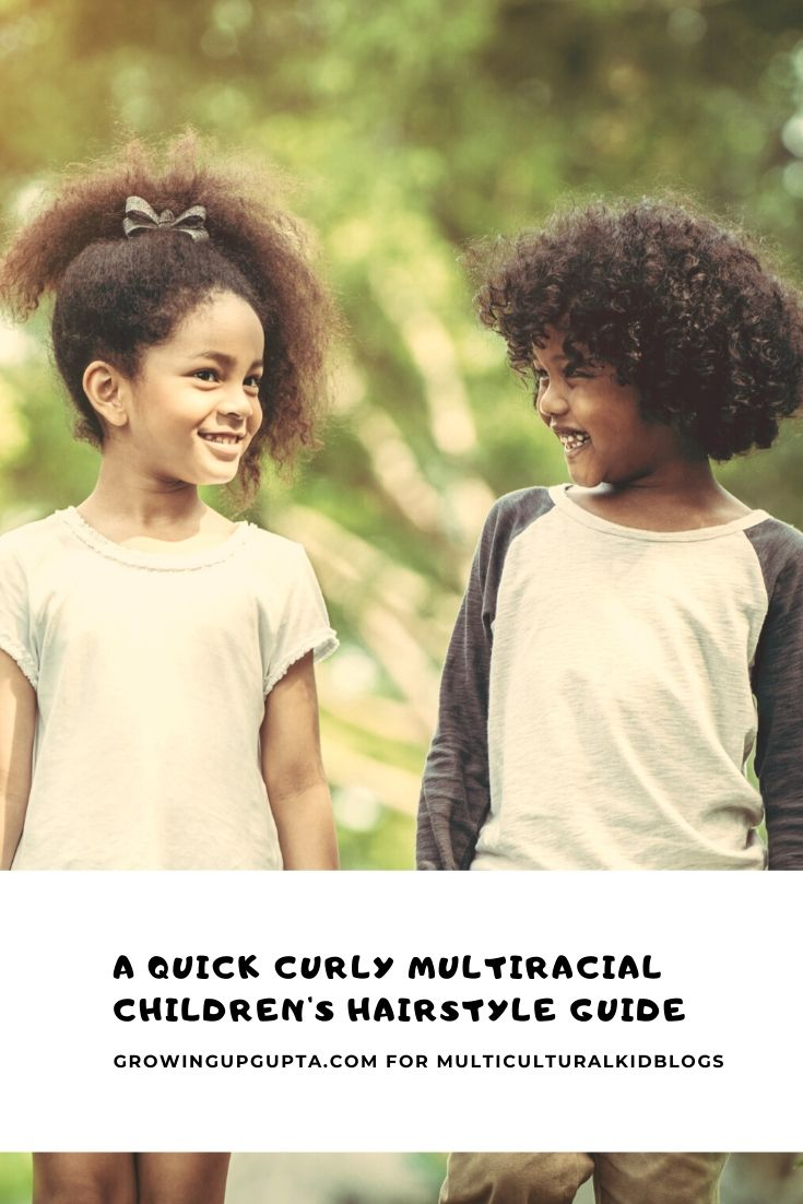 A Quick Curly Multiracial Children S Hairstyle Guide Multicultural Kid Blogs