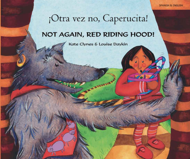 "Language Lizard's ""Not Again, Red Riding Hood!"""
