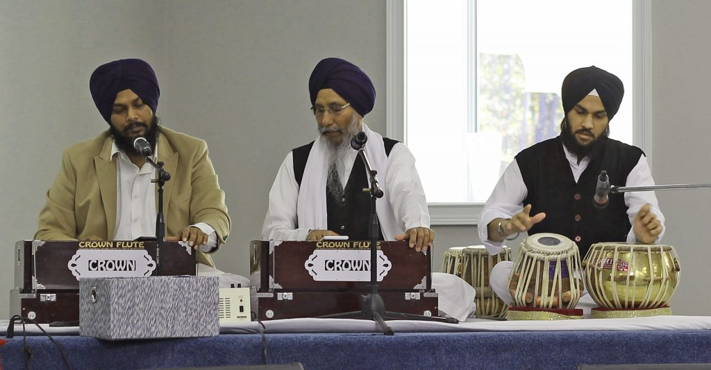 traditional kirtan musicians
