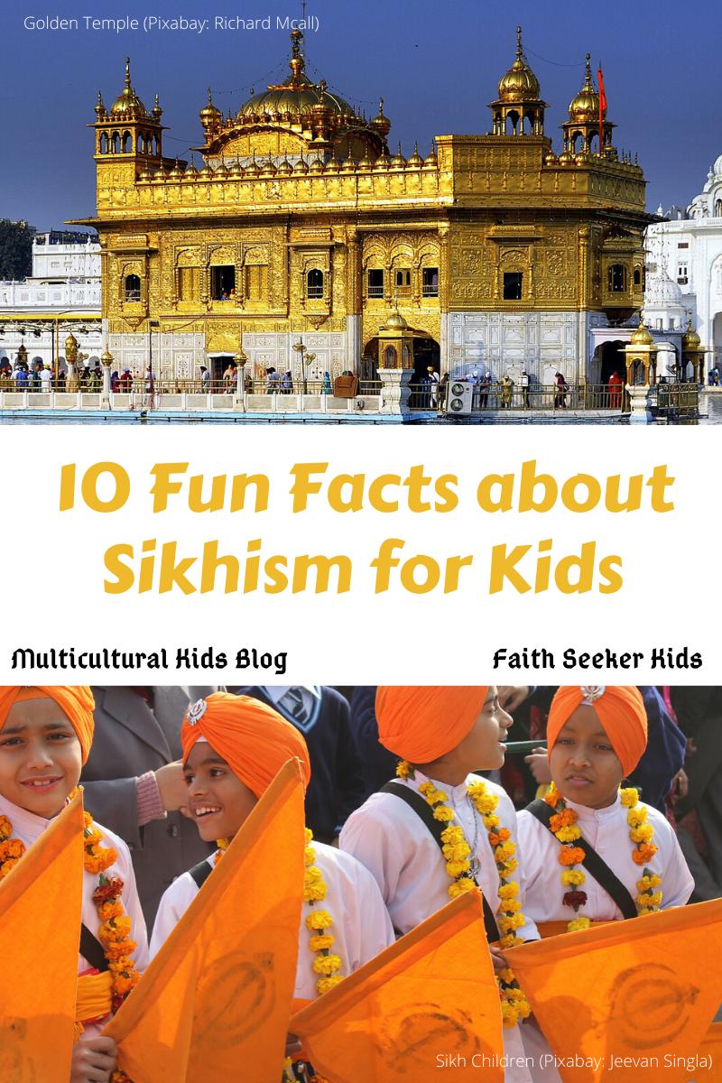 Sikhism Golden Temple and Sikh children | Multicultural Kid Blogs