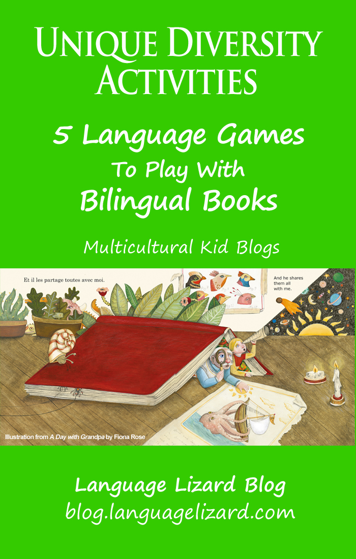 unique diversity activities -5 language games to play with bilingual books