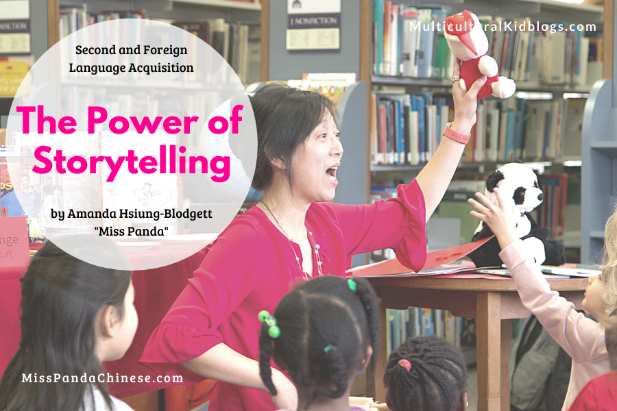 The Power of Storytelling for Children | Miss Panda Chinese | MulticulturalKidBlogs.com