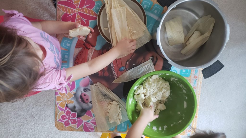 Mexican play food Tamales
