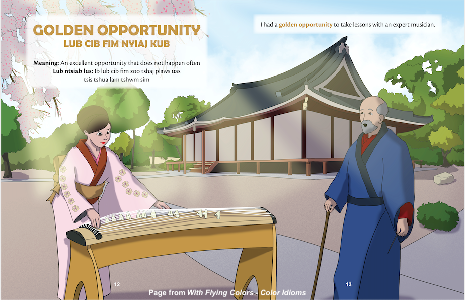 Golden Opportunity Hmong, Fun with Idioms