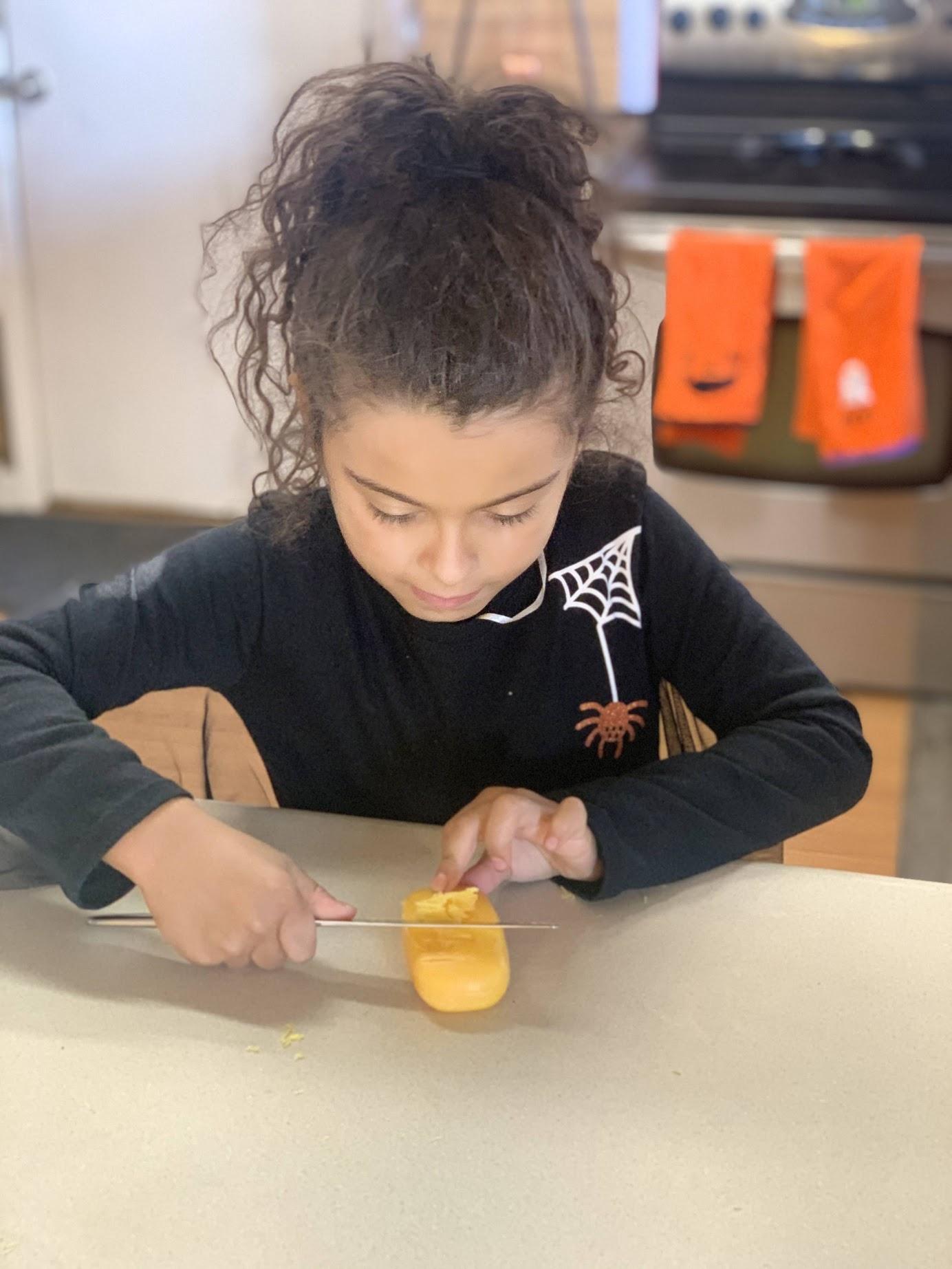 Scott Cummins Pumpkin Carvingrecreated by kids