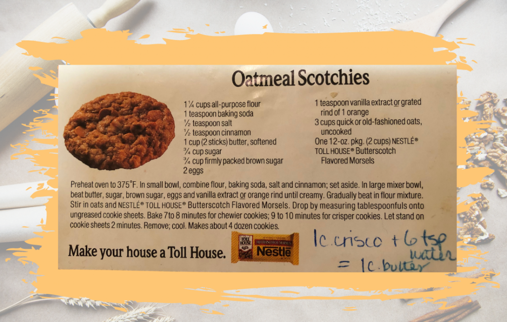 Photo of Oatmeal Scotchies recipe - traditions