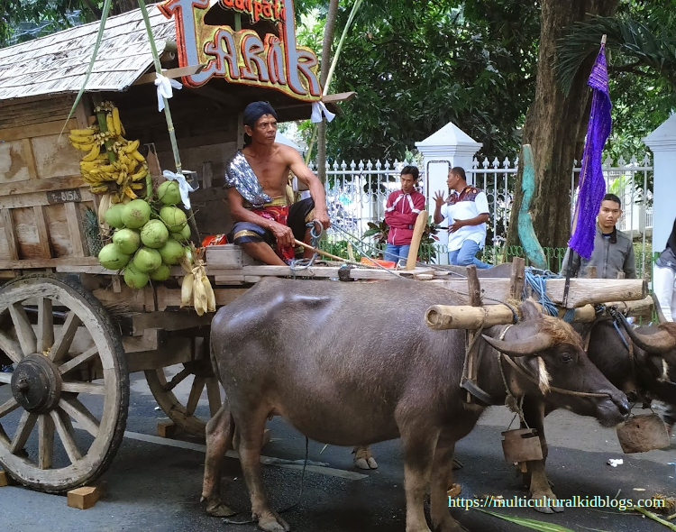 A traditional transportation at East Java