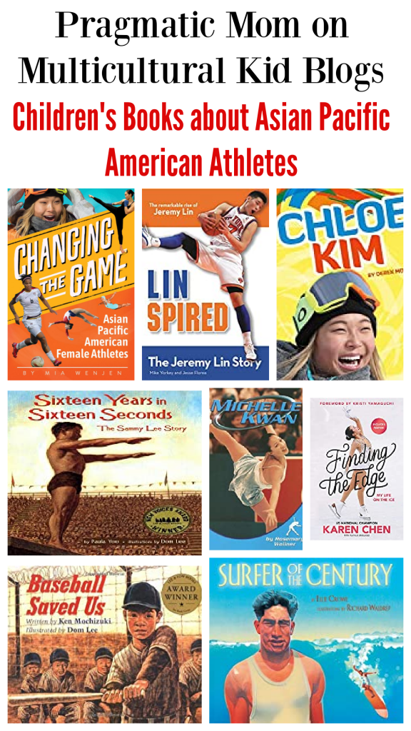 Children's Books about Asian Pacific American Athletes