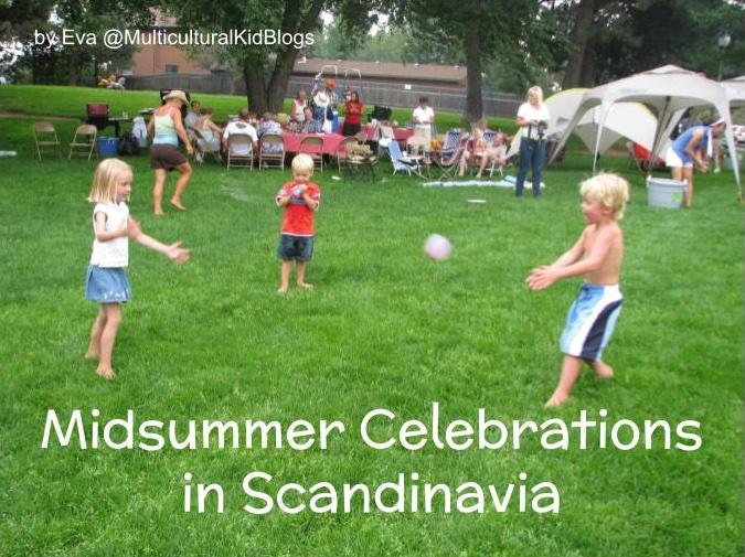 Children playing on Midsummer | Midsummer celebrations in Scandinavia | Multicultural Kid Blogs