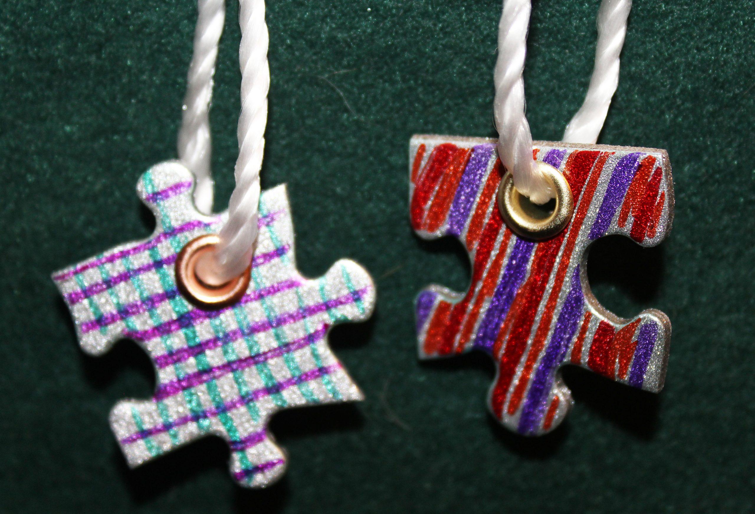 Complete Puzzle Piece Necklaces
