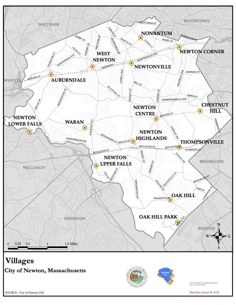 Villages of Newton