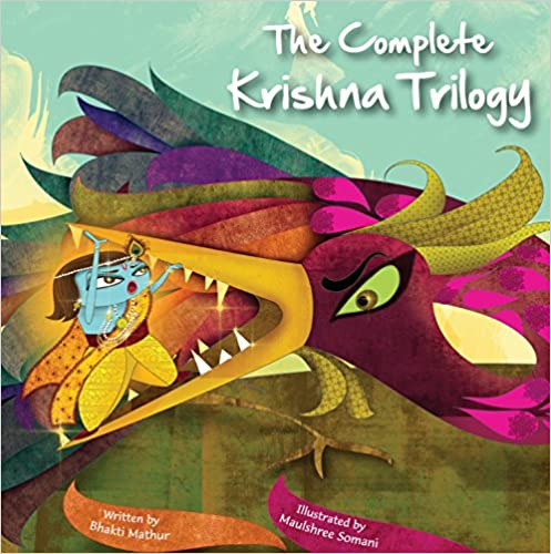 Cover of The Complete Krishna Trilogy