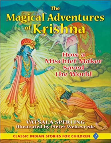 Cover of The Magical Adventures of Krishna